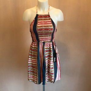 NWT Open Back Lulus Halter Dress